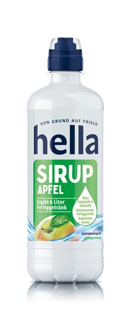 hella Sirup Apfel (0,5 Liter)